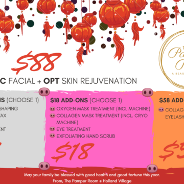Our January 2019 + FEB 2019 CNY Promo is here!!