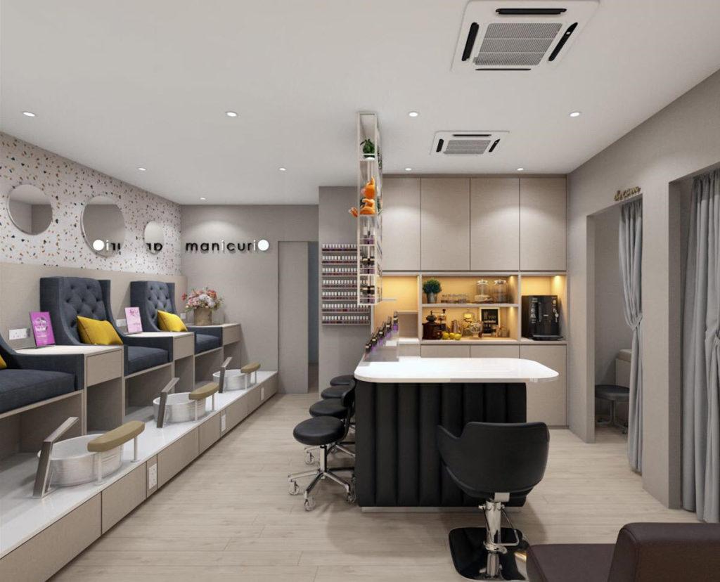 The Pamper Room Manicurio Area