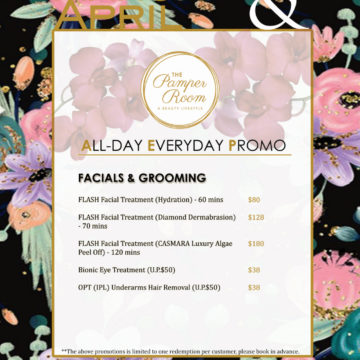 March and April 2020 Promotion