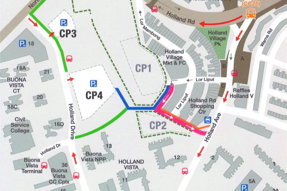 Getting to The Pamper Room – Traffic Circulation and Pedestrian Accessibility (25th Feb 2020 – Q2 2025)